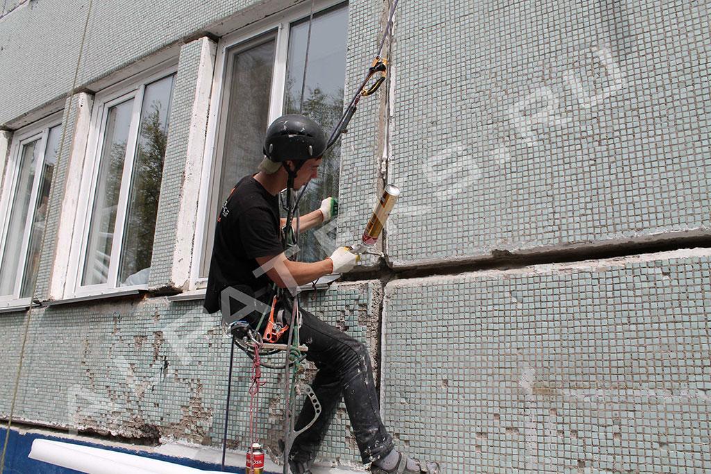 Тер герметизация стеновых швов